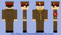 Soviet Army sergeant off-duty uniform
