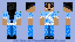 KATARA Water tribe outfit Minecraft Skin