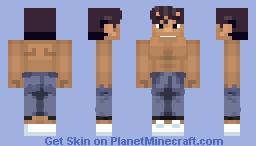 Yusuke Urameshi Minecraft Skin