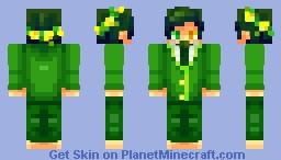 ◊ P∆n∂∆ ◊ Go Green! Minecraft Skin