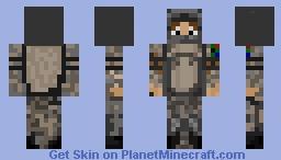 South African Soldier Minecraft Skin