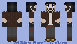 Fredrick the Devious Minecraft Skin