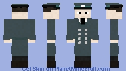 East German Volkspolizei Minecraft Skin