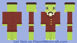 Gena the crocodile Minecraft Skin
