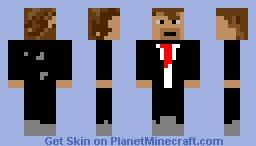 """The, """"Fancey man"""" james Minecraft Skin"""