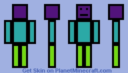 Random Thing v2 Minecraft Skin