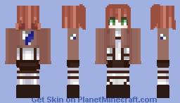 𝓘𝓼𝓪𝓫𝓮𝓵𝓵𝓮 𝓜𝓪𝓰𝓷𝓸𝓵𝓲𝓪 | by: AnimeHeichou Minecraft Skin