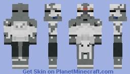 Star wars Commander Wolffe phase 2 Minecraft Skin