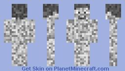 Moon steve Minecraft Skin