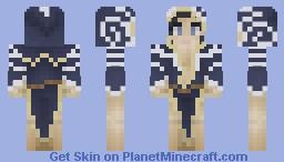 Nocturnal (Daedric Prince) Minecraft Skin