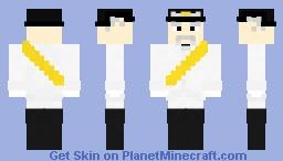 Otto Von Bismarck Minecraft Skin