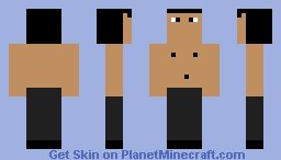 Kylo rey sin camisa Minecraft Skin