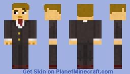 Business man Minecraft Skin