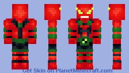 NRG (Out of Containment Suit) | Ben 10 Omniverse | Ben Tennyson Minecraft Skin