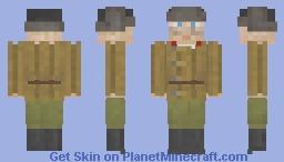 Red Army soldier Minecraft Skin