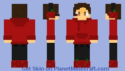 Tomato Themed Gamer Minecraft Skin