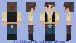 Han Solo | Smuggler Minecraft Skin