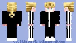 Gopnik/Slav Giorno Giovanna Minecraft Skin