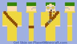 Alan (Seven Deadly Sins) Minecraft Skin
