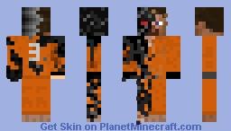 Test subject 3 V2 Minecraft Skin