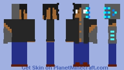 CYB3RN3T1CS (Brackets Contest Entry) Minecraft Skin