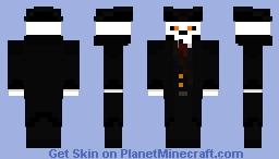 The Darkitect (Pirate/Marauder) Minecraft Skin