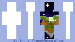 Night Sky JAVA Minecraft Skin