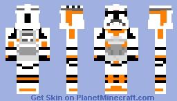 Clone Trooper Boil Minecraft Skin