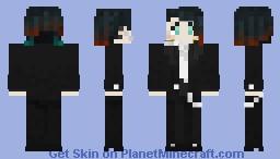 Kimetsu no Yaiba : KZK / Enmu *Fan-verse* Minecraft Skin