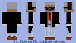 Elder Agent Minecraft Skin