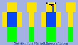 derp noob Minecraft Skin