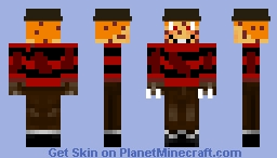 Hamkruger(Five Nights With Mac Tonight Halloween Update/Special) Minecraft Skin