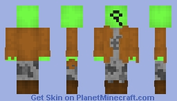 Green Novakid (Starbound) Minecraft Skin