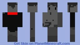 Ghost Vampire Minecraft Skin