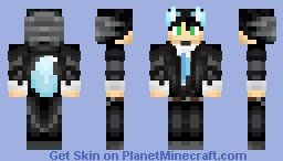 BlueWolf Judge Uniform Minecraft Skin