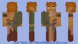 [LOTC] Warrior Wood Elven Male Minecraft Skin