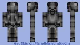 Dark steve Rainbow Quest Minecraft Skin
