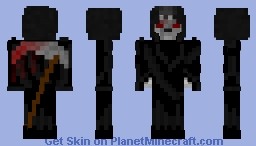 Grim (inspired by/for ShadowHunter42) Minecraft Skin