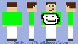Boi in Dream pajamas Minecraft Skin