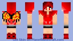AngelFlame Minecraft Skin