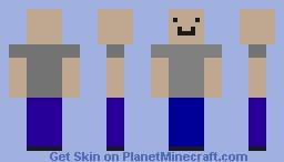 BaldDrug Minecraft Skin
