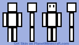 cube craft Minecraft Skin