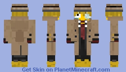 CryingLaughing Detective Minecraft Skin