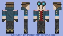 Beshon Steampunk Airship Pilot Minecraft Skin