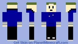 baldi boy with hoodie Minecraft Skin