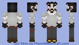 Fredrick the Devious (Armor edition) Minecraft Skin