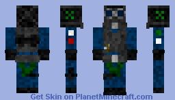 Rainbow Six Siege Smoke (SAS) Minecraft Skin