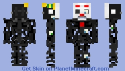 Ennard~ corrupt  ( Fnaf sister location) Minecraft Skin