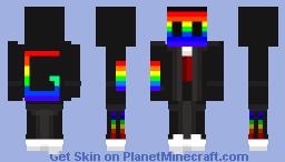 Server of Gay Cult Uniform (mask) Minecraft Skin