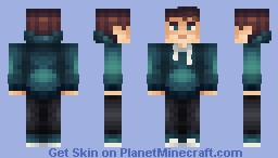 Cyan Boy (Requested by Roblox_Fan123) ~ AngelNT Minecraft Skin